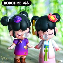 Action Toy Figures Nanci Blind Box China Style Character Dolls Model for Children Kids Birthdays Gift