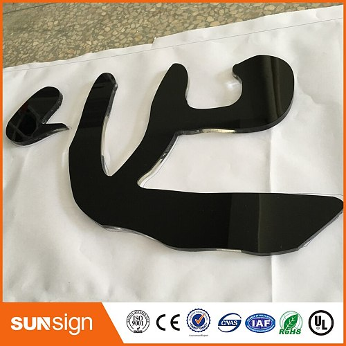 China Supplier Company Logo 3D Acrylic Letter Sign Custom Outdoor LED Sign