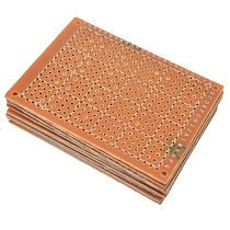 2-10pcs 5x7cm/7x9cm/9x15cm/12x18cm Single Side Prototype PCB Universal Board Experimental Bakelite Copper Plate Circuirt Board