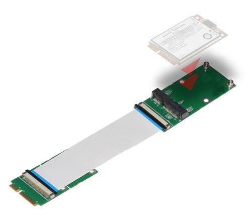 Mini PCIe to Mini PCIe Mini PCI-E Extender FPC 10/20/30CM Network Card Extend SSD Extend Extender Extension Adapter