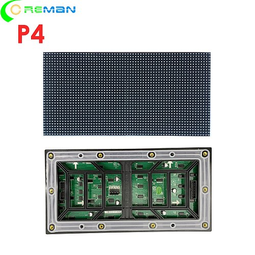 Aliexpress high quality p4 outdoor led display screen module smd 3in1  outside digital led sign board unit led matrix module pan