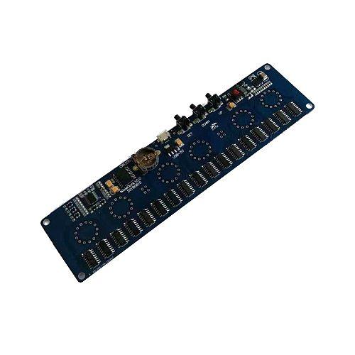 zirrfa 5V Electronic DIY kit in14 Nixie Tube digital LED clock circuit board kit PCBA, No tubes