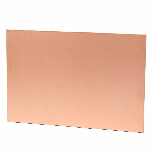 FR4 150x100mm Single Side Copper Clad Laminate PCB Board Fiberboard CCL