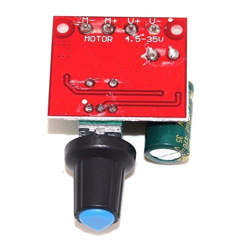 PWM DC motor speed controller 5V-35V speed control switch board 5A 90W switch function LED dimmer speed control module