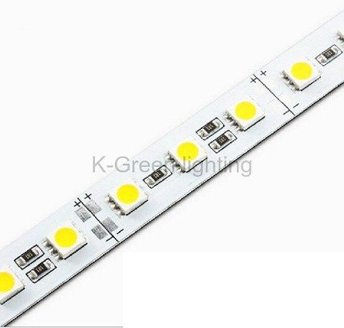 50X Supper bright DC12V 5050 LED rigid strip with aluminum PCB 72LEDs/m W/R/G/B/RGB express free shipping