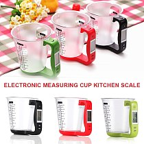 Digital Measuring Cup Electronic Measuring Cup Scale with LCD Display for Milk, Water, Liquid, Food, Vegetable Weight Measuring