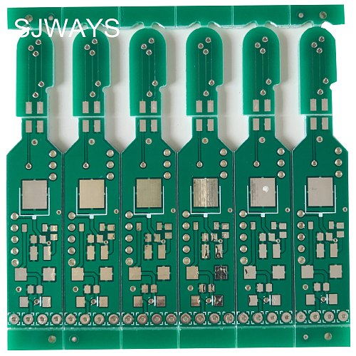 SJWAYS RoHS Multilayer PCB Fabrication Panel by V Scoring Customized or Help to Panelized