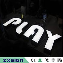 Factory Outlet Custom high brightness Outdoor Acrylic led signs letter,logo signages, advertising name sign characters