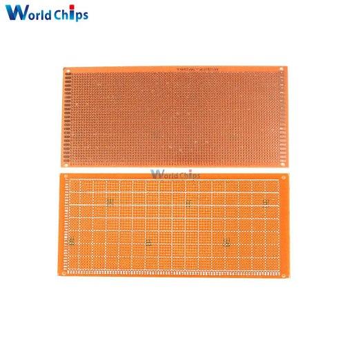 10x22cm DIY Bakelite Plate Paper Prototype PCB Breadboard Universal Experiment Matrix Board Single Sided Sheet Copper 10*22CM