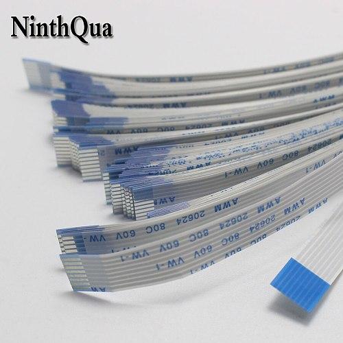 1PCS Flat flexible cable FFC FPC LCD 1.0mm pitch A B Forward 300/350/400/450mm AWM 20624 80C 60V VW-14/5/6/8/10/12/13/16/18~30P