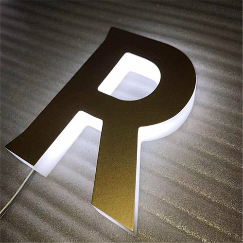 full lit sign 3D indoor&outdoor custom acrylic led letter sign eye-catching style for shopping mall chain store