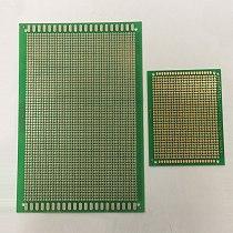 10*20cm 10x20cm 13*25cm 13x25cm 1.6mm Thickness Single One Side Green Epoxy Fiber Glass FR4 Hole Weld Test Universal PCB Board