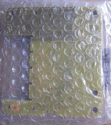 2.5mm 4 layer printed circuit board,yellow soldermask pcb,yellow multilayer circuit board