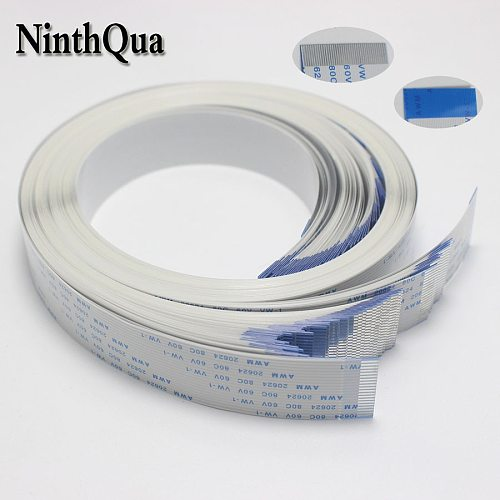 0.8mm Flat flexible cable FFC FPC LCD cable AWM 20624 80C 60V VW-1 FFC-0.5MM 4/6/8/10/11/12/14/16/19/20/24/15/30/32/34/36P