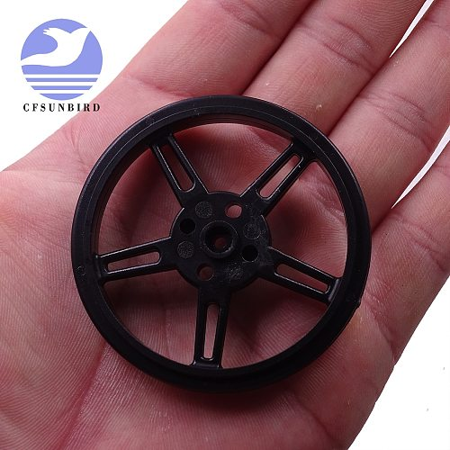 10pcs wheel for SG90 9g 360 Degree Continuous Rotation Micro Robot Servo FS90R