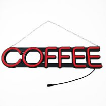 Deco 10x5 inches Red LED Neon Open Sign XMAS Ultra Bright LED Neon Lights Store Shop Windows Sign Advertising Lights Indoor lamp