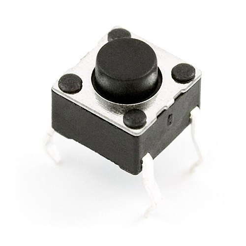 Mini Pushbutton Switch Compatible Breadboard  (Pack of 20)