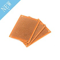 5pcs Bakelite Circuit Board 5x7cm Prototype Single Side Copper PCB Board DIY
