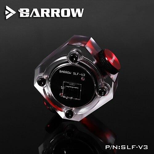 BARROW Water Flow Velocity Meter ( Electronic Data sensor ) SLF - V3 Water Cooler System Transparent Filter Flow meter