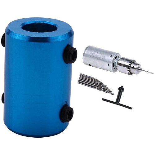 1 Pcs Shaft Coupling Rigid Coupler Motor Connector & 1 Set Dc 12V Motor Small Pcb Hand Drill