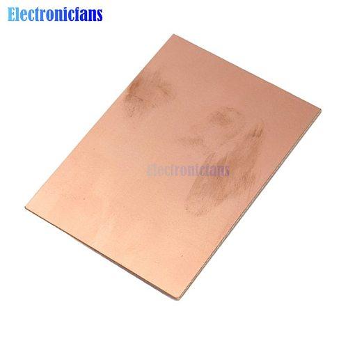 10pcs PCB One-Side Single Side Copper Clad 70x100x1.5mm Single PCB Laminate Board DIY PCB Kit