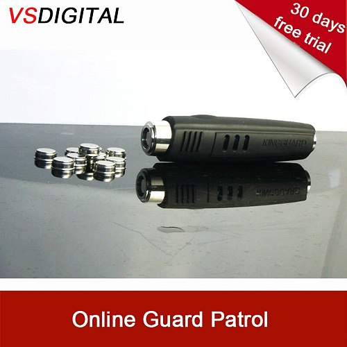Free shipping electronic rugged ibutton guard patrol system which can upload data via web downloader check data via online APP