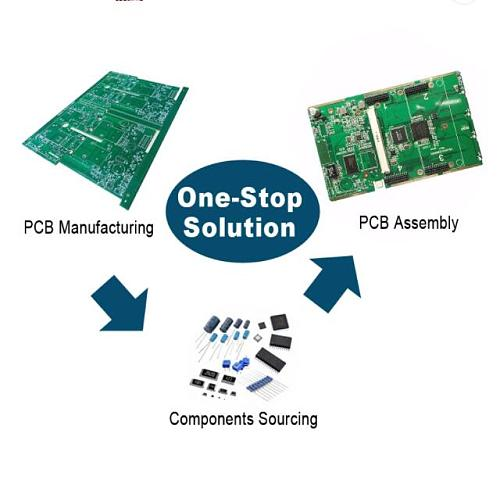 Electronic PCB Assembly Service for Xbee 3G Sensor Module Customized PCBA OEM Multilayer Circuit Board Green Gold Silk Copper