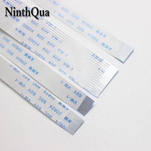 1PCS Flat flexible cable FFC FPC LCD 1.0mm pitch A B Forward 150/200/250/300mm AWM 20624 80C 60V VW-1 4/5/6/32/18/12/10/12 60Pin