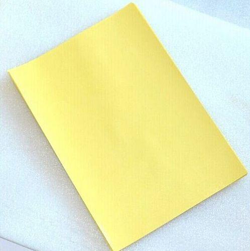 100 pcs / lot 600g PCB circuit board thermal transfer paper yellow, A4 thermal transfer paper transmission