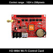HD-W64 USB Ports + Wifi Wireless LED Sign Controller 1024*256Pixels Single Dual Color LED Control Card