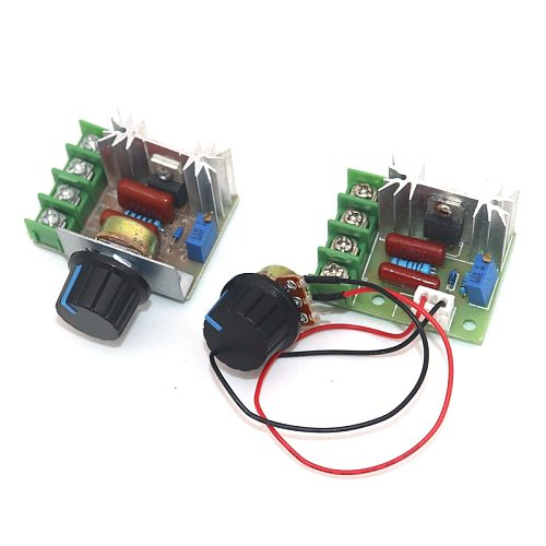 AC 220V 2000W SCR Voltage Regulator Dimming Dimmers Motor Speed Controller Thermostat Module