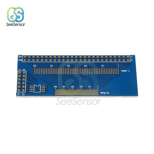 Multiple 0.5/0.7/0.8/1.0mm Pitch TFT LCM LCD Adapter Board FPC Board SMD To DIP