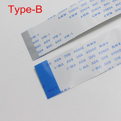 2PCS Flat flexible cable FFC FPC LCD cable 0.5mm pitch A Forward Length 150mm AWM 20624 80C 60V VW-1 5/6/9/10/12/14/30/45 Pin