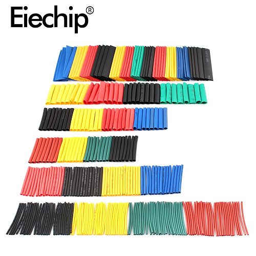 328pcs Heat Shrink Tube termoretractil 2:1 Polyolefin Shrinking Assorted kit Insulated Sleeving Tubing Wrap Wire Cable Sleeve