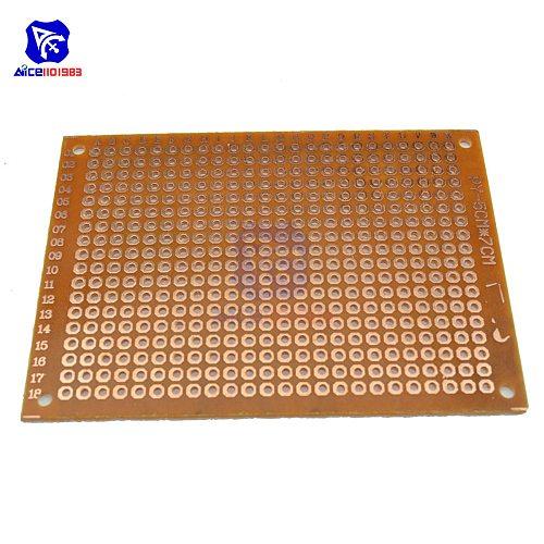 10PCS/Lot Universal PCB Board 5x7 5 x 7 cm 2.54mm DIY Prototype Paper Printed Circuit Panel 5x7cm 50x70mm Single Sided Board