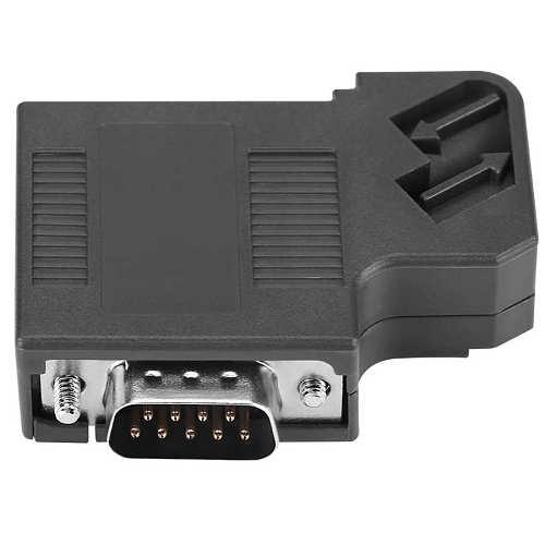 1pcs Cable Connector 6ES7 972 0BA41 to 0XA0 DP Plug  Profibus Bus Connector Adapter Electronic Data Systems Konektor