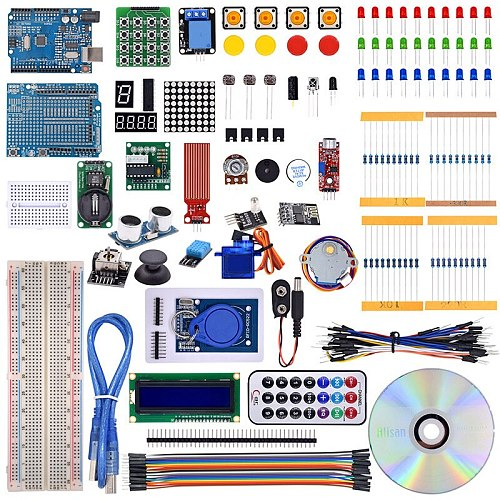 The Most Complete Rfid Starter Kit for Arduino R3 Upgraded Version Learning Suite With Tutorial and Gift ESP8266 Wifi module