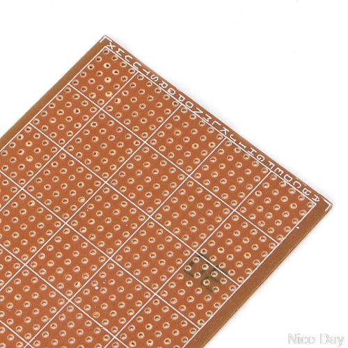 5 Pcs 6.5x14.5cm Stripboard Veroboard Uncut PCB Platine Single Side Circuit Board Ju12 20 Dropship