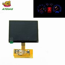 2020 New VDO FIS Cluster LCD DISPLAY For AD A3 A4 A6, VDO LCD easy install Low Price Free Shipping