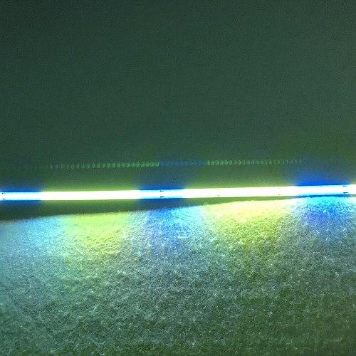 WS2812C-2020 LED smart rigid bar;addressable rgb full color;50cm long;8mm wide;120leds/50cm; DC5V input;alu PCB;high bright
