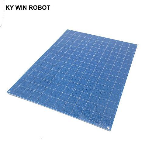 1pcs DIY 15*20CM Blue Single Side Prototype Paper PCB Universal Experiment Matrix Circuit Board 15x20CM For Arduino
