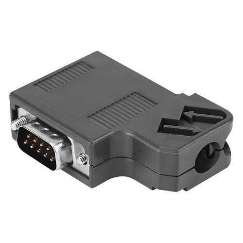 1pcs Cable Connector 6ES7 972 0BA41 0XA0 DP Plug  Profibus Bus Connector Adapter Electronic Data Systems  micro usb connector