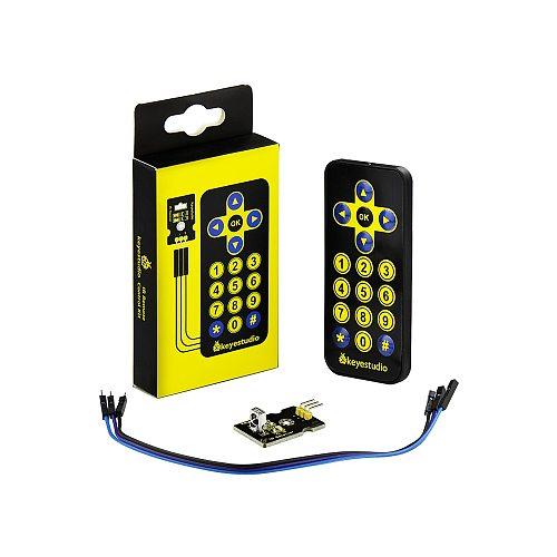 Free shipping! Keyestudio IR Receiver Module Kit(receiver module+remote controller+3Pin F-M dupont line) For Arduino