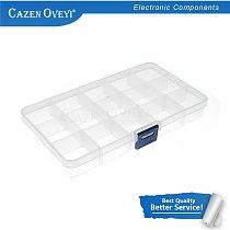 1pcs/lot Super 15 format ulity box screw box IC electronic components transparent plasc box storage box In Stock