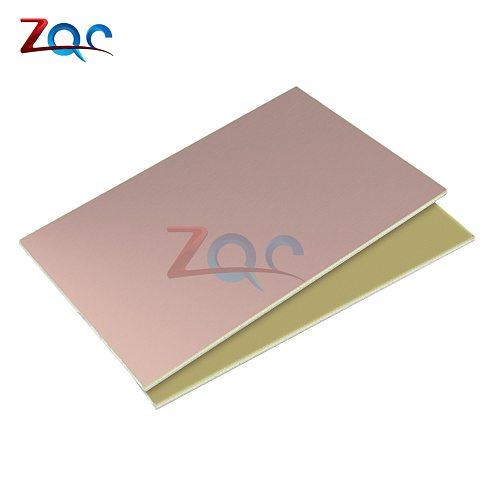 FR4 PCB 10x15cm 10*15 Single Side Copper Clad plate DIY Prototype PCB Kit Laminate Circuit Board 1.2MM For DIY 10 x 15 CM