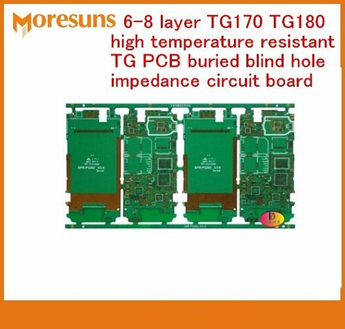 Fast Free Ship 2-8 layer TG170 TG180 High Temperature Resistant TG PCB Buried Blind Hole Impedance Circuit Board Multilayer PCB