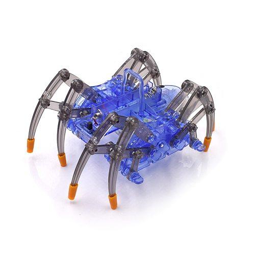 Electric Spider Robot kit DIY Educational Intelligence Development Assembles Kids Children Puzzle Action Kits