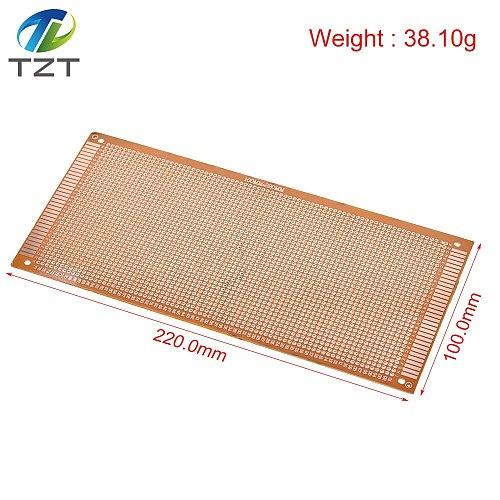 10x22cm 10*22CM DIY Bakelite Plate Paper Prototype PCB Universal Experiment Matrix Board Single Sided Sheet Copper 10x22 10 x 22