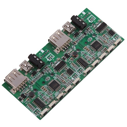 Smart Electronics Custom-made Multilayer OEM/ODM PCB/PCBA, cell phone circuit