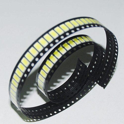 100pcs/lot LED Chip Light 0.5W SMD 5730 Lamp Bulb Tube High Power White for Panel Light Flood Lights Strip 150mA DC3-3.2V
